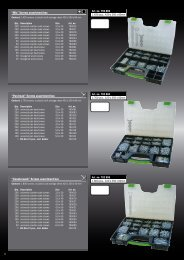 Assortment boxes, screws - Haupa