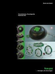 Kabeleinziehgeräte, Zubehör - Haupa
