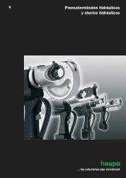 Prensaterminales hidráulicos y electro hidráulicos - Haupa