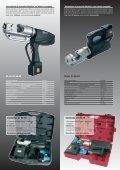 Prensaterminales hidráulicos y electro hidráulicos - Haupa - Page 4