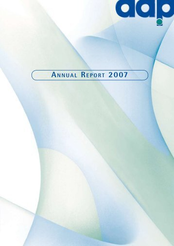 aap Annual Report 2007 - aap Implantate AG