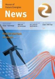 Newsletter May 2008 - Haus der Zukunftsenergien