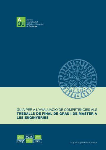 Guia competencies TFC cat.pdf - Universitat de Barcelona