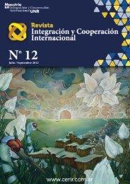 Nro. 12 - Julio/Septiembre 2012 - cerir