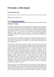 O Estado e a Revolução - Biblioteca Digital da PUC-Campinas