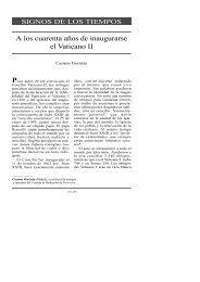 A los cuarenta años de inaugurarse el Vaticano II - Atrio