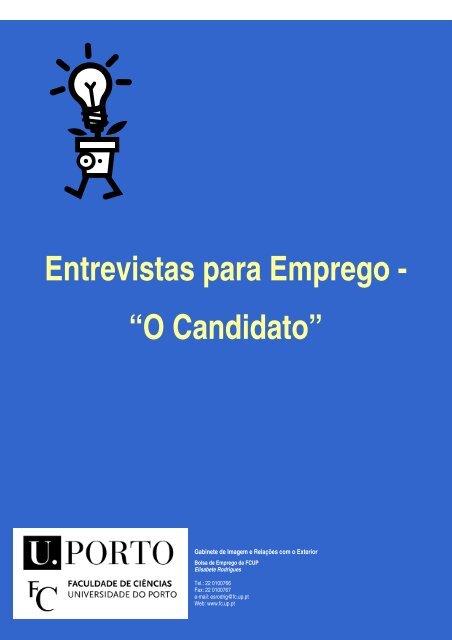 """Entrevistas para Emprego - """"O Candidato"""""""