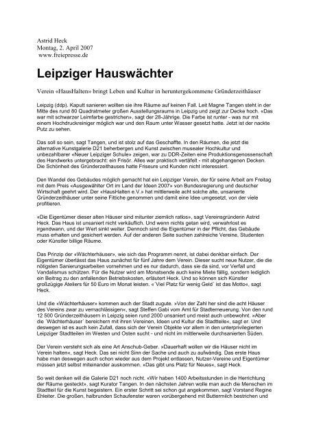 Leipzig nackt friseur Friseure in