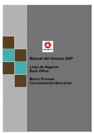 Manual del Usuario SAP