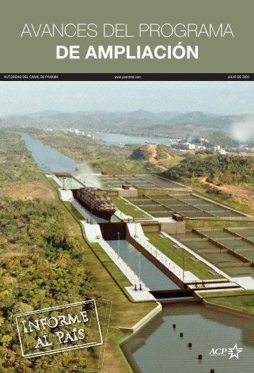 AVANCES DEL PROGRAMA DE AMPLIACIÓN - Panama Canal