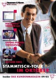 Download Insider 09 / 02 - Hausmann Wynen