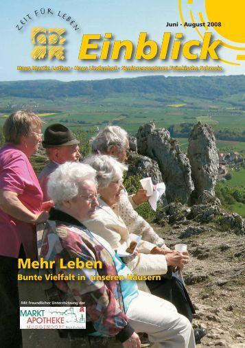 Einblick - Haus Martin Luther