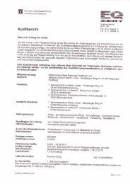 Auditbericht - Haus Martin Luther