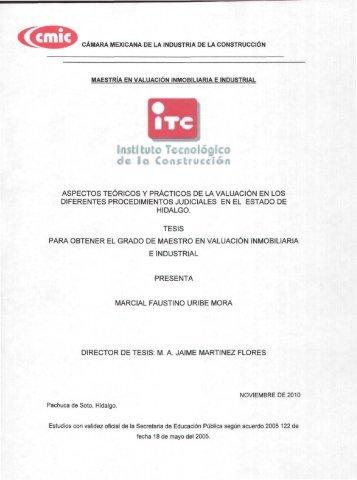 instituto Tecnológico de la Construcción - Acceso al sistema