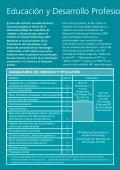 Educación y Desarrollo Profesional Continuo - Page 2