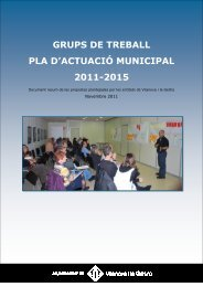 Resum PAM 2011 - Ajuntament de Vilanova i la Geltrú