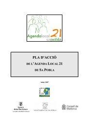 Pla d'acció Agenda Local 21 - Ajuntament de Sa Pobla