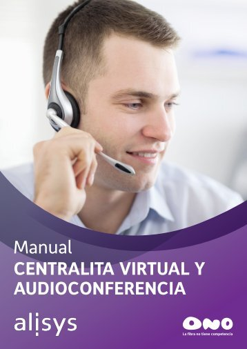 Manual CENTRALITA VIRTUAL Y AUDIOCONFERENCIA - Ono