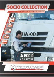 SOCIO COLLECTION www.tecnomotor.it