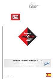 Sequent Plug Drive Manual Instalador - BRC - Alberdi GNC