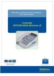 Centralita NETCOM DKDA Milenium 18