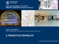 Commercio e Centri urbani: progetto di centralità (del prof.Luca ...