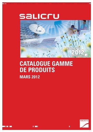 Catalogue général - Salicru, SA
