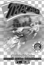 experiències del soci: tachó pedrós - Moto Club Manresa
