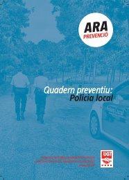 Quadern preventiu: Policia local - UGT