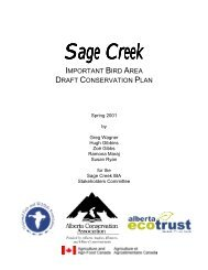 Sage Creek Sage Creek - Bird Studies Canada