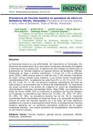 Prevalencia de Fasciola hepatica en ganadería de ... - Veterinaria.org