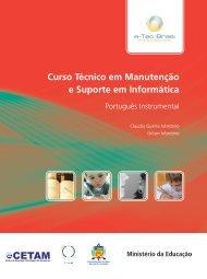 Português Instrumental - Rede e-Tec Brasil - Ministério da Educação