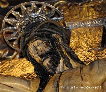 Programa Fiestas del Cristo 2012 - San Cristóbal de La Laguna