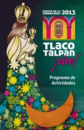Programa de Actividades - Tlacotalpan