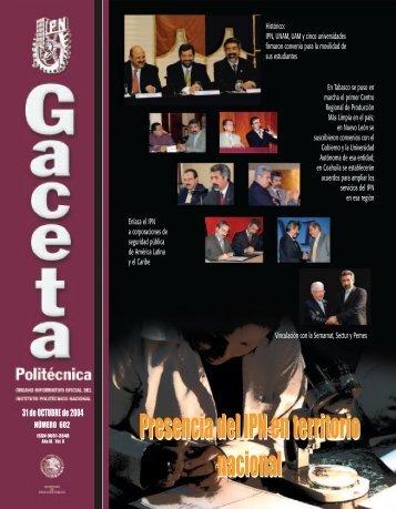 26-31convocatorias - Instituto Politécnico Nacional