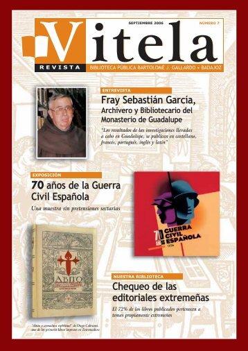 Fray Sebastián García - Bibliotecas Públicas