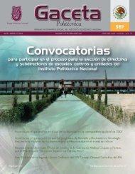 convocatoria - Instituto Politécnico Nacional
