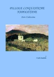 PILLOLE LINGUISTICHE NAPOLETANE 11 - Vesuvioweb