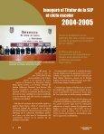 Inauguró el Titular de la SEP Inauguró el Titular de la SEP - Instituto ... - Page 4