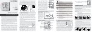 Manual de instrucţiuni - Rossmax
