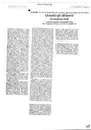 Emigrazione / Le storie. Quando albanesi eravamo noi - Consiglio ...