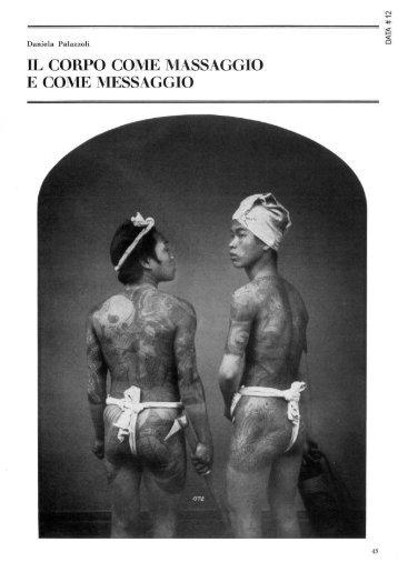 """Body Art, """"Il corpo come massaggio e come messaggio"""" - artslab.com"""