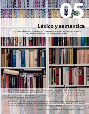 Léxico y semántica - McGraw-Hill