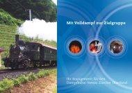 Mit Volldampf zur Zielgruppe - Dampfbahn-Verein Zürcher Oberland ...