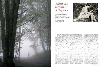 Statale 45: la musa di Caproni