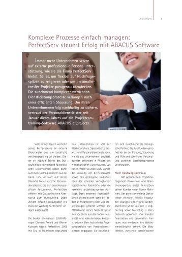 Immer mehr Unternehmen setzen - ABACUS Business Solutions ...