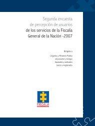 Encuesta de Percepción de Usuarios de los servicios de la Fiscalía ...