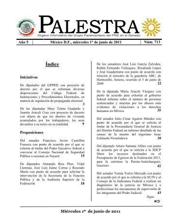 ALESTRA P ALESTRA - Senadores PRD - Grupo Parlamentario del ...