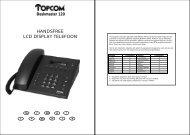 HANDSFREE LCD DISPLAY TELEFOON - Phone Master