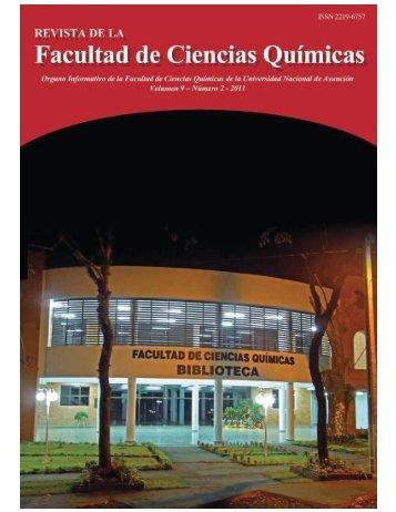 Vea este número - Facultad de Ciencias Químicas